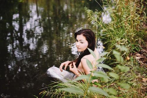 Eho Severa фотопроекты духи воды русалка наяда сирена
