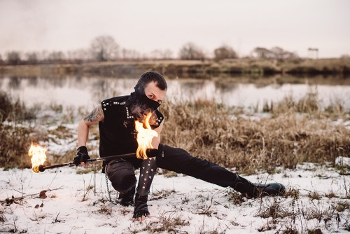 Firecat танцы с огнём