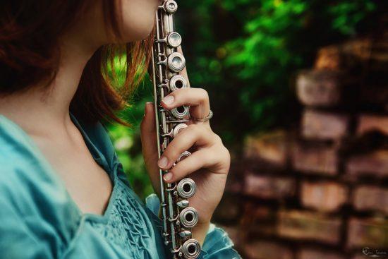 Сильфида играет на флейте, eho severa, ehosevera