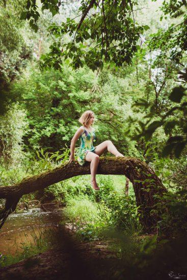 Очарованная тайнами леса, нимфа, дочь леса, дриада, eho severa